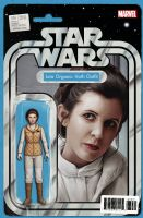 Star Wars #36 - Christopher Action Figure (Leia Organa: Hoth Outfit) Variant Cover